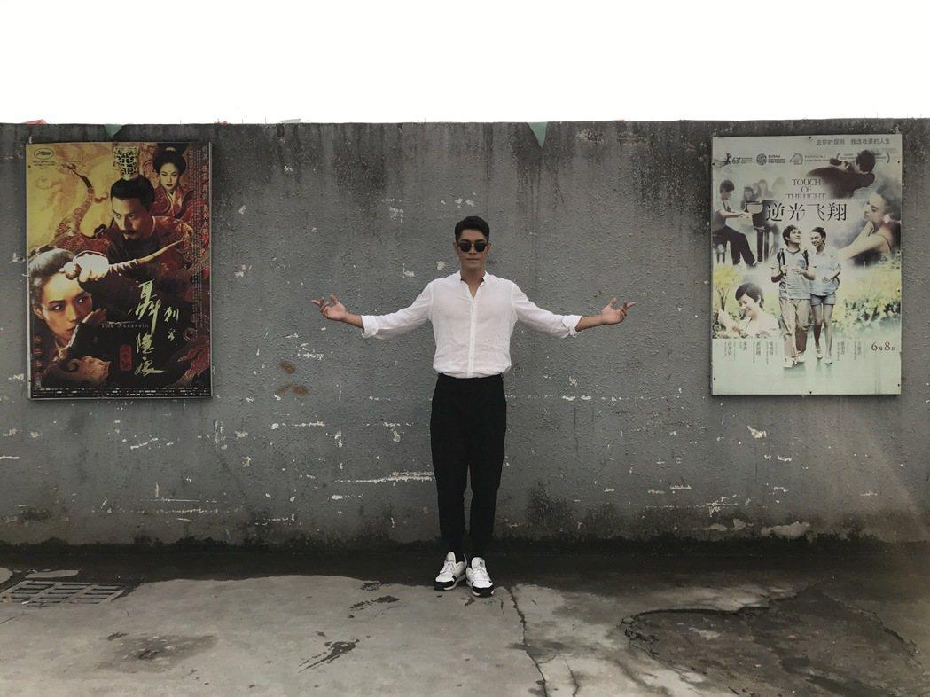 李迪恩演出「盜聽者」。圖/周子娛樂提供
