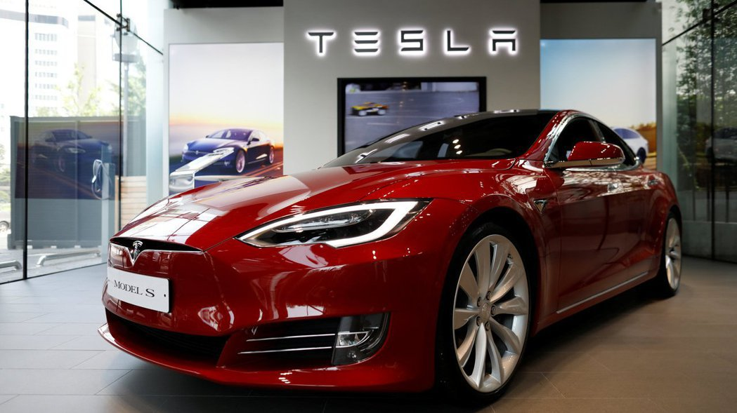 電動車特斯拉(Tesla)。 路透