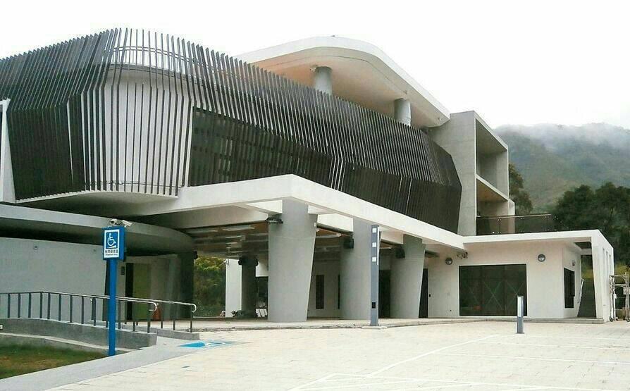 桃園市復興區羅浮溫泉,未來將成為復興旅遊新亮點,溫泉區周邊的羅浮遊客中心已完工。...