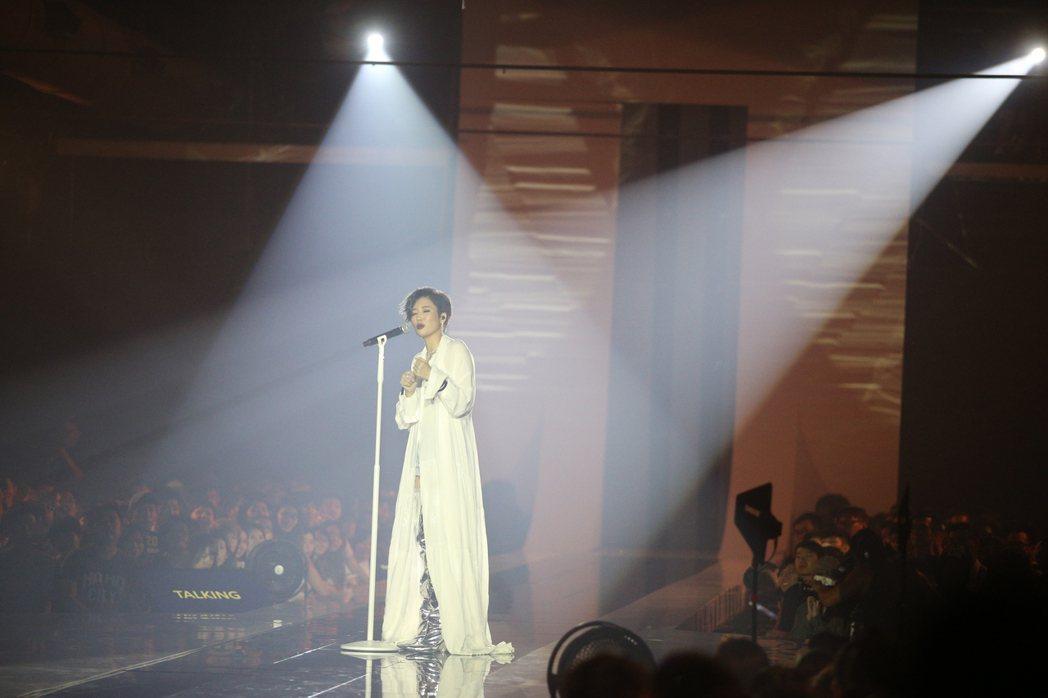 A-Lin《I'm A-Lin》新歌演唱會。記者陳正興/攝影