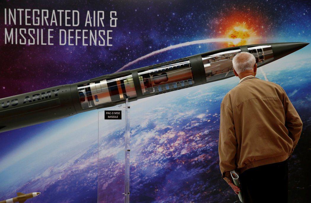 飛彈防禦系統是洛克希德馬丁公司的主力產品。 路透