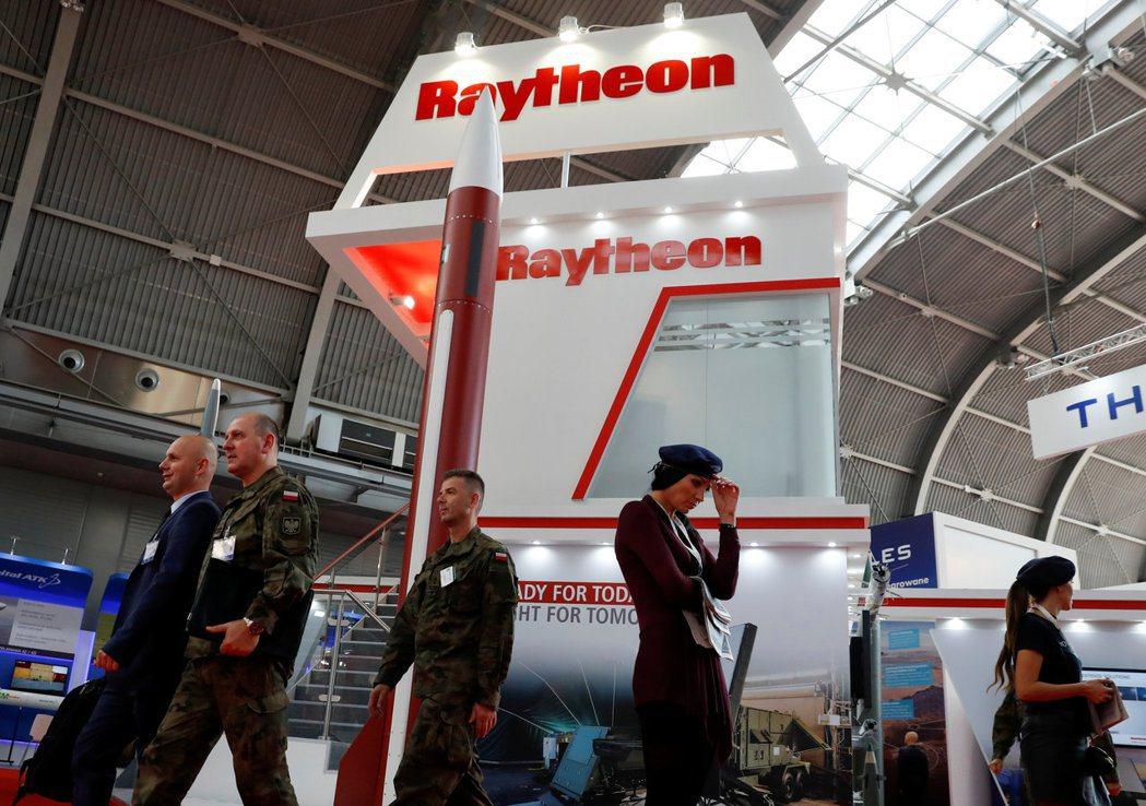雷神公司是美國主要軍火製造商。 路透