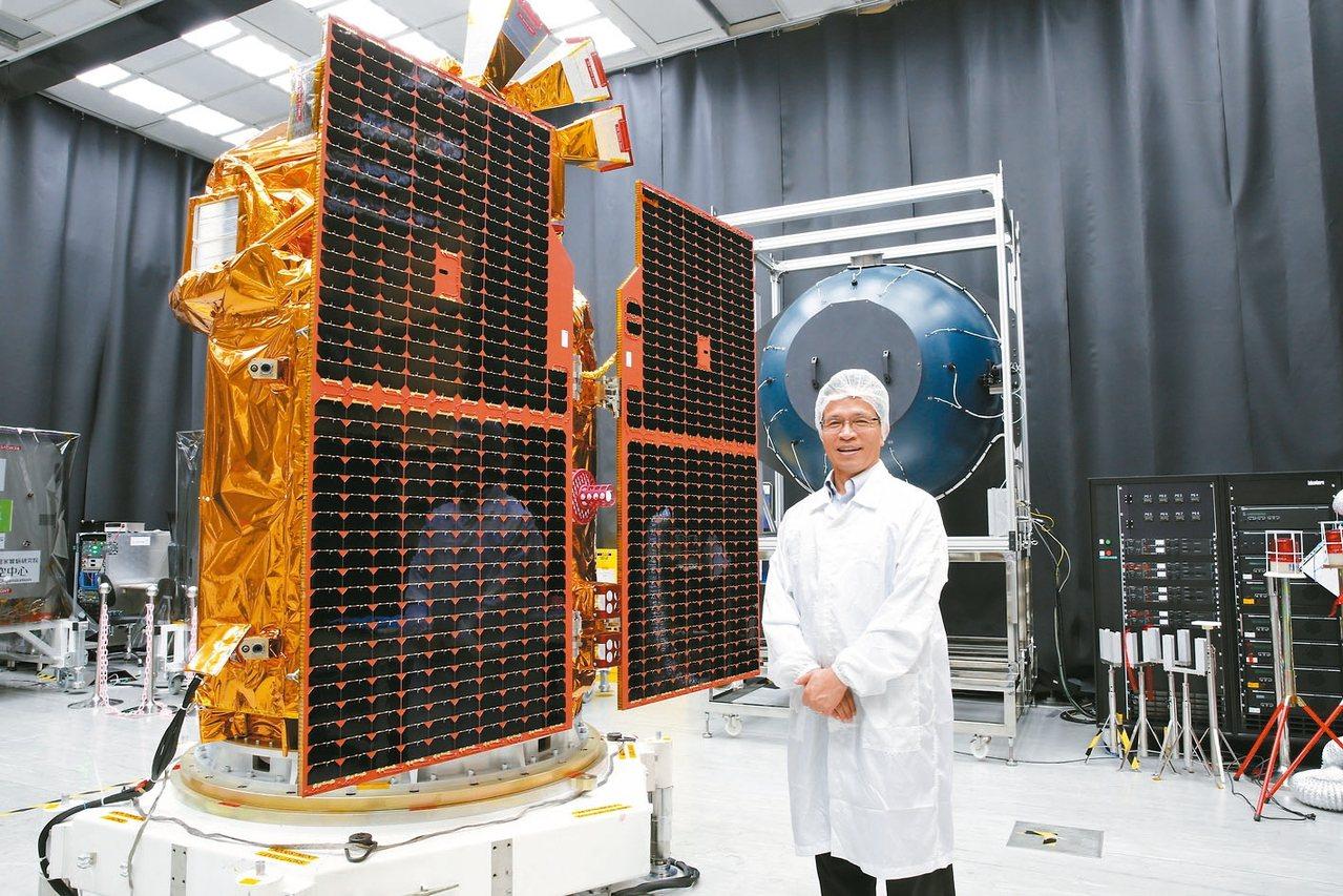 福衛五號衛星。 圖/國研院提供