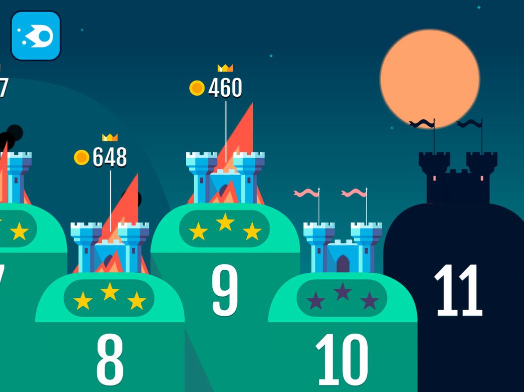 遊戲目前提供多達50個關卡讓玩家挑戰。