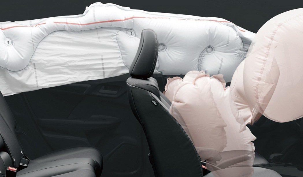 1.5S升級標配6SRS氣囊。 圖/Honda Taiwan提供