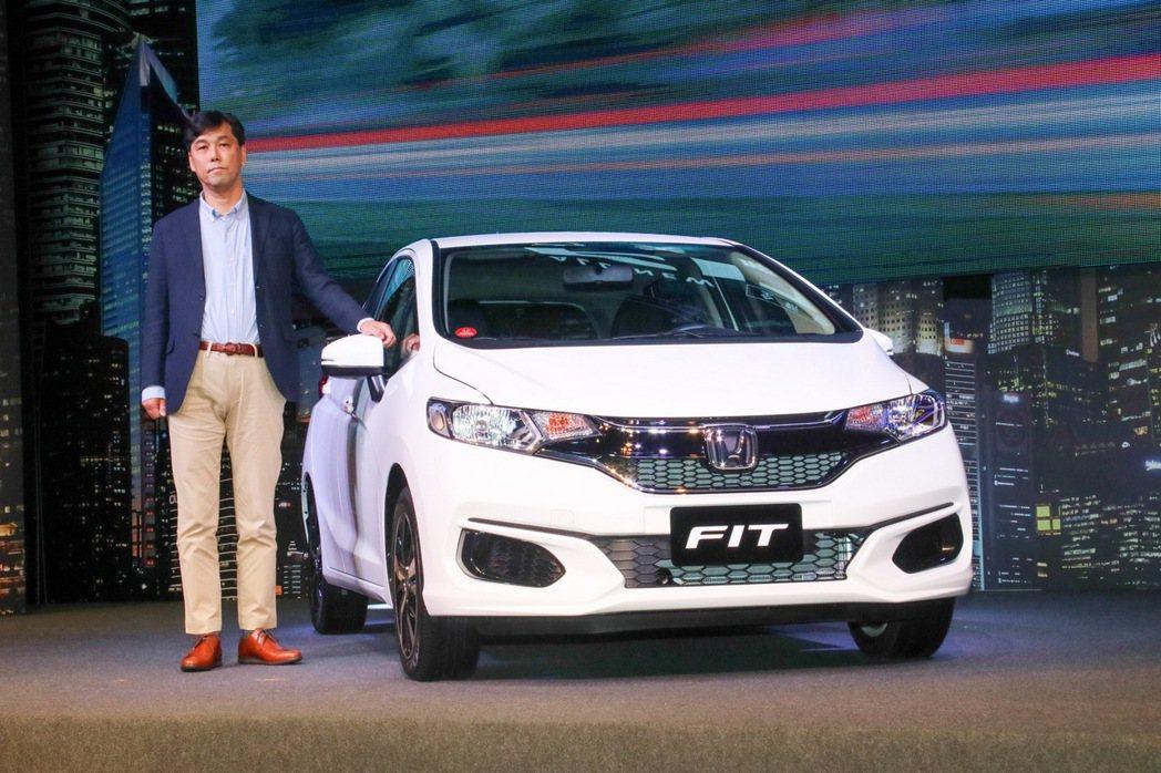 Honda FIT。 記者史榮恩/攝影