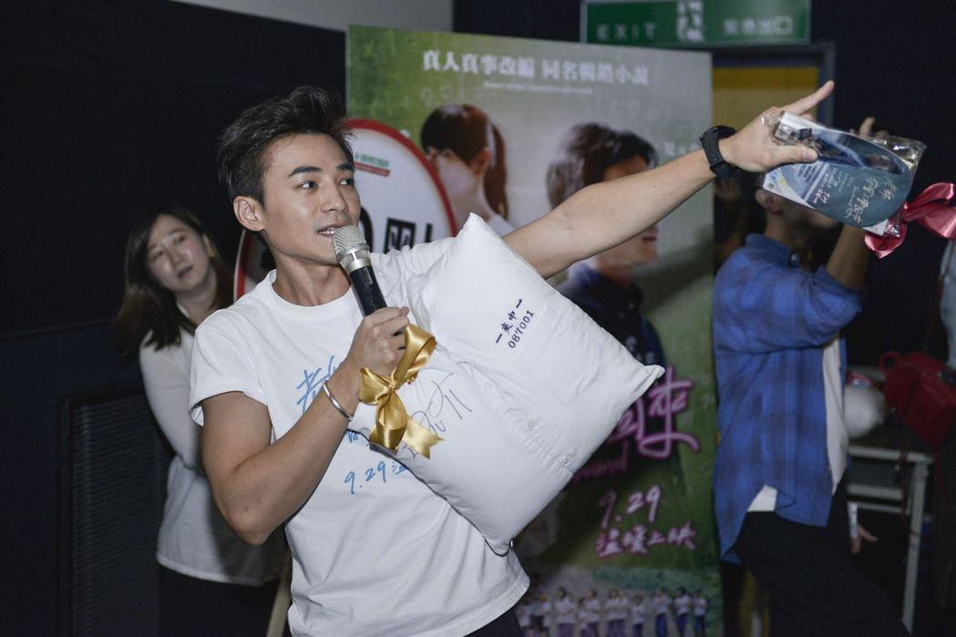 新片「老師你會不會回來」今天到台南舉行公益特映會。圖/牽猴子提供