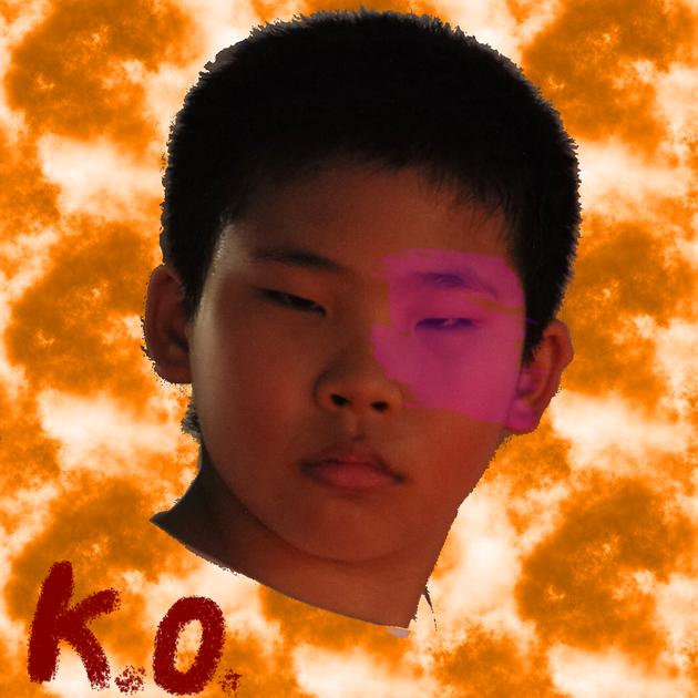 竇靖童新專輯「Kids Only」封面是隨手拿表弟的照片改圖做成的。圖/摘自微博