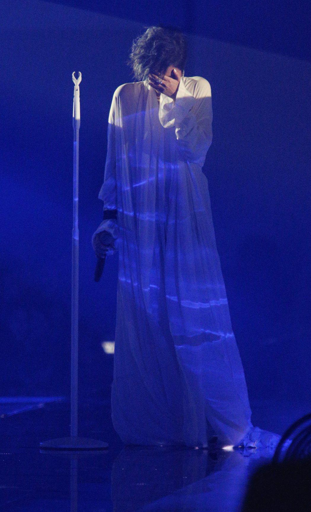 天生歌姬A-Lin《I'm A-Lin》新歌演唱會。記者陳正興/攝影