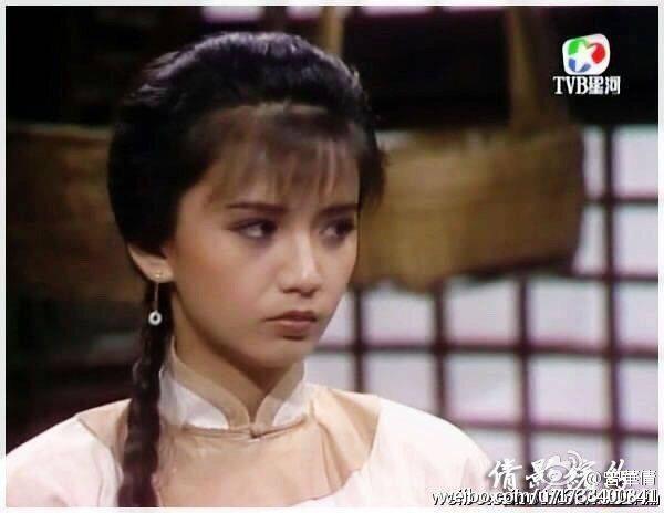 曾華倩在TVB的古裝劇中扮相俏美,深受觀眾歡迎。圖/摘自微博