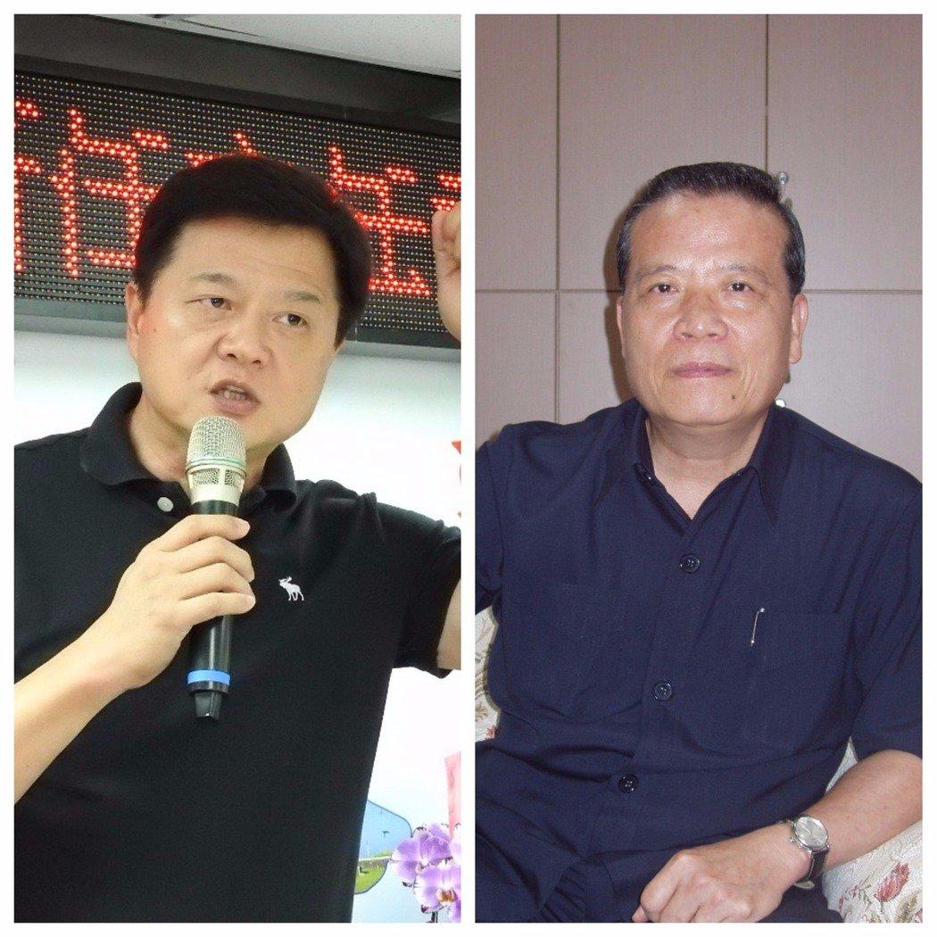 周錫瑋(左圖)與林國棟。 報系資料照片