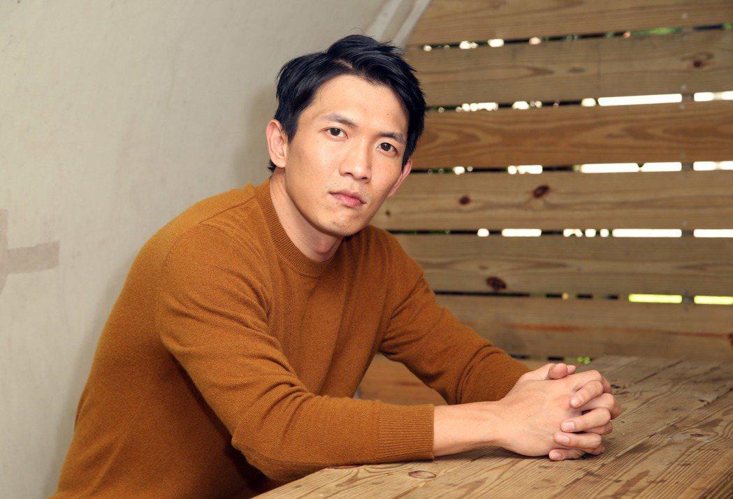 黃尚禾入圍金鐘男配角。記者陳瑞源/攝影