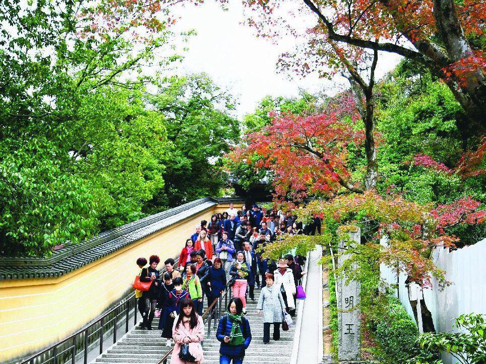 航空業者建議,熱門的日本,還是可以選擇一些二線城市旅遊。 記者黃淑惠/攝影