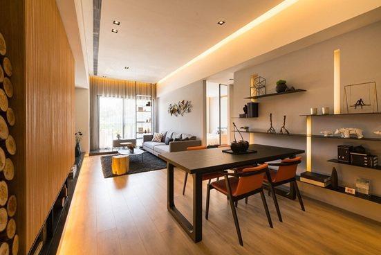 「國泰禾」每戶格局方正、採光好,加上得房率高,是市面上少數將空間讓利給消費者的個...