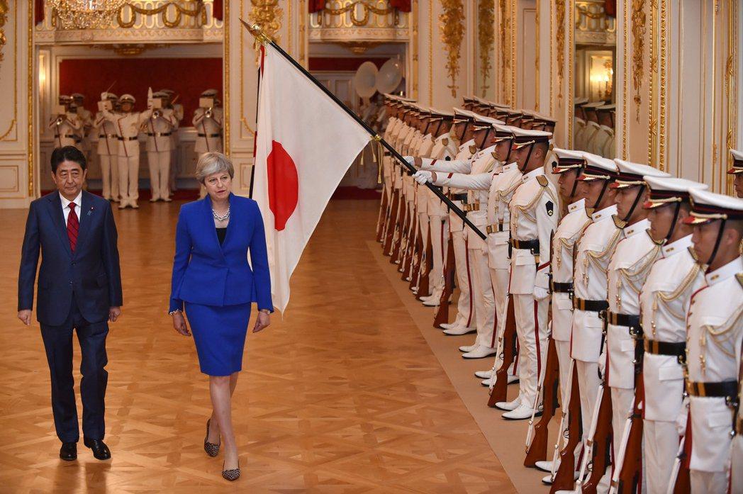 梅伊這次訪問日本與當年的英日同盟雷同,即對於同盟(或合作)的需求,仍然是英國大於...