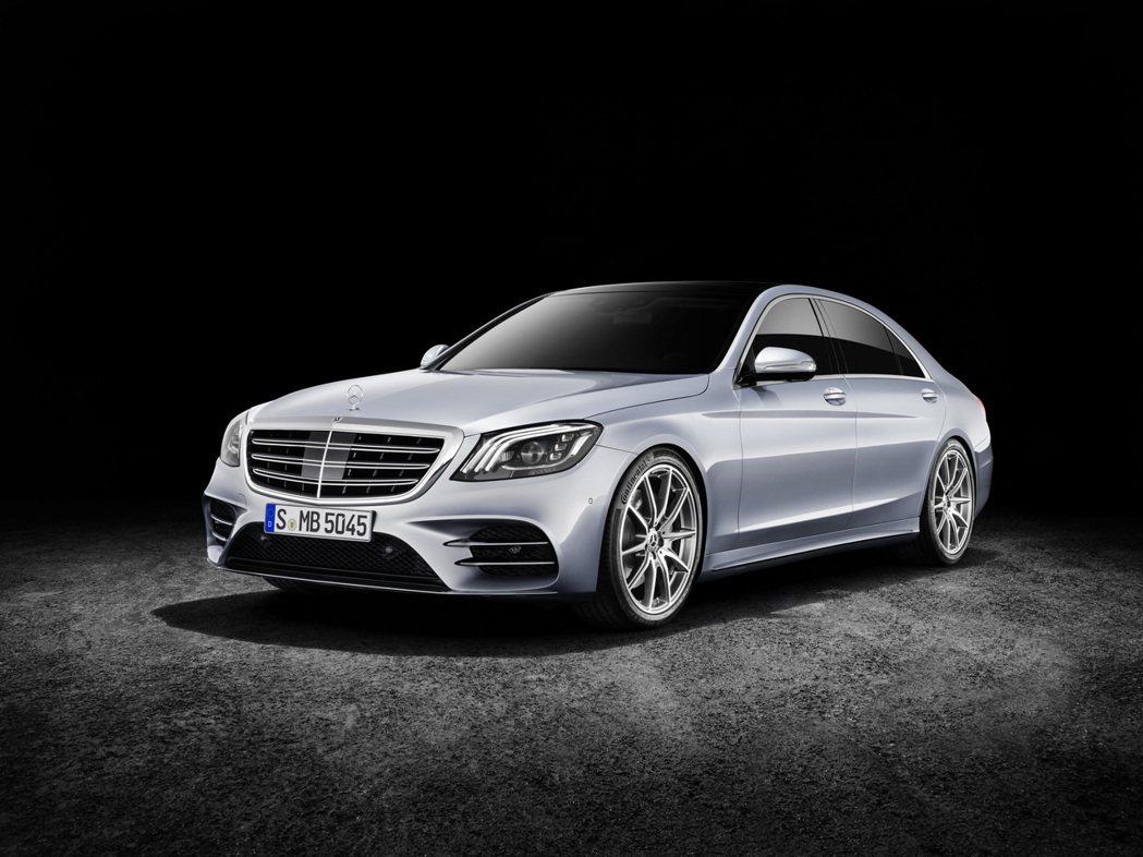 全新S-Class。圖/Mercedes-Benz提供