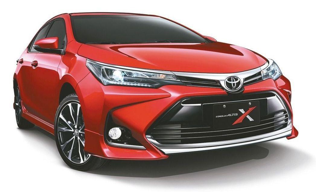 新改款與眾不同Corolla Altis X全球首發。 和泰汽車/提供