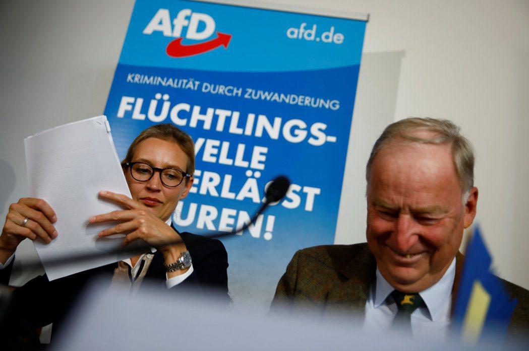 德國另類選擇黨(AfD)不僅將會首次突破5%門檻,擠進聯邦議會,更有望取得國會第...