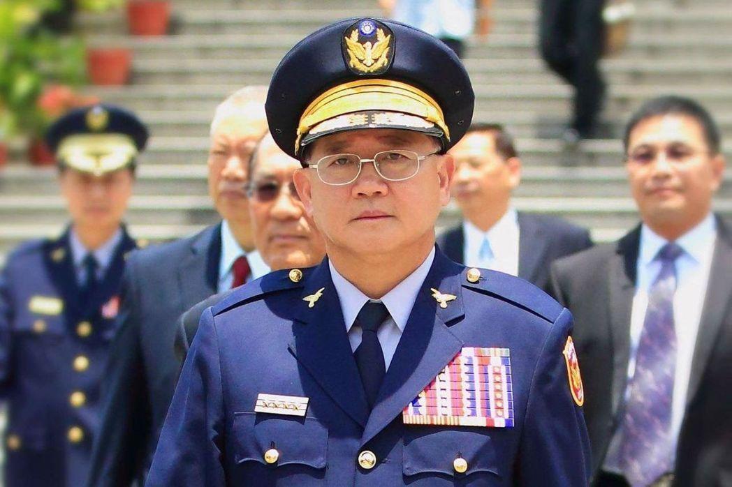 第十五任警政署長陳國恩,調任國安局副局長。 圖/摘自臉書「NPA署長室」