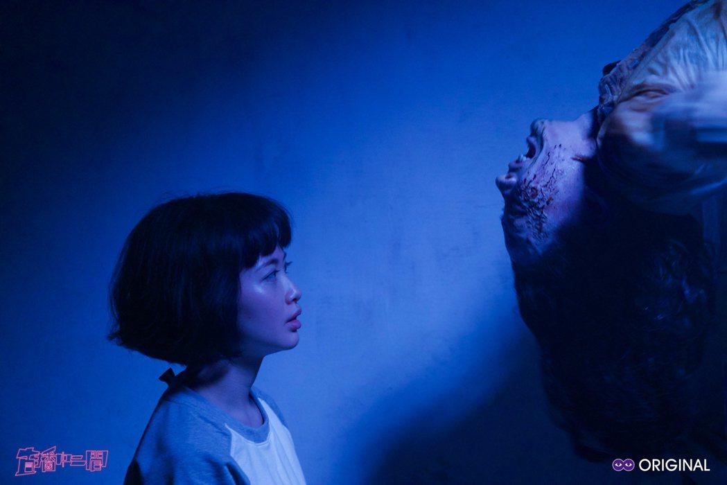 詹宛儒演出「直播中二間」時相當害怕。圖/酷瞧提供