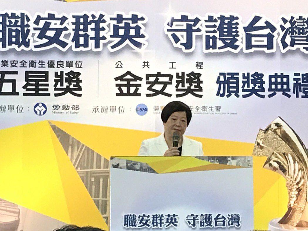 一例一休即將再次修法,勞動部長林美珠表示,明天總質詢「大家一起共同討論」修法內容...