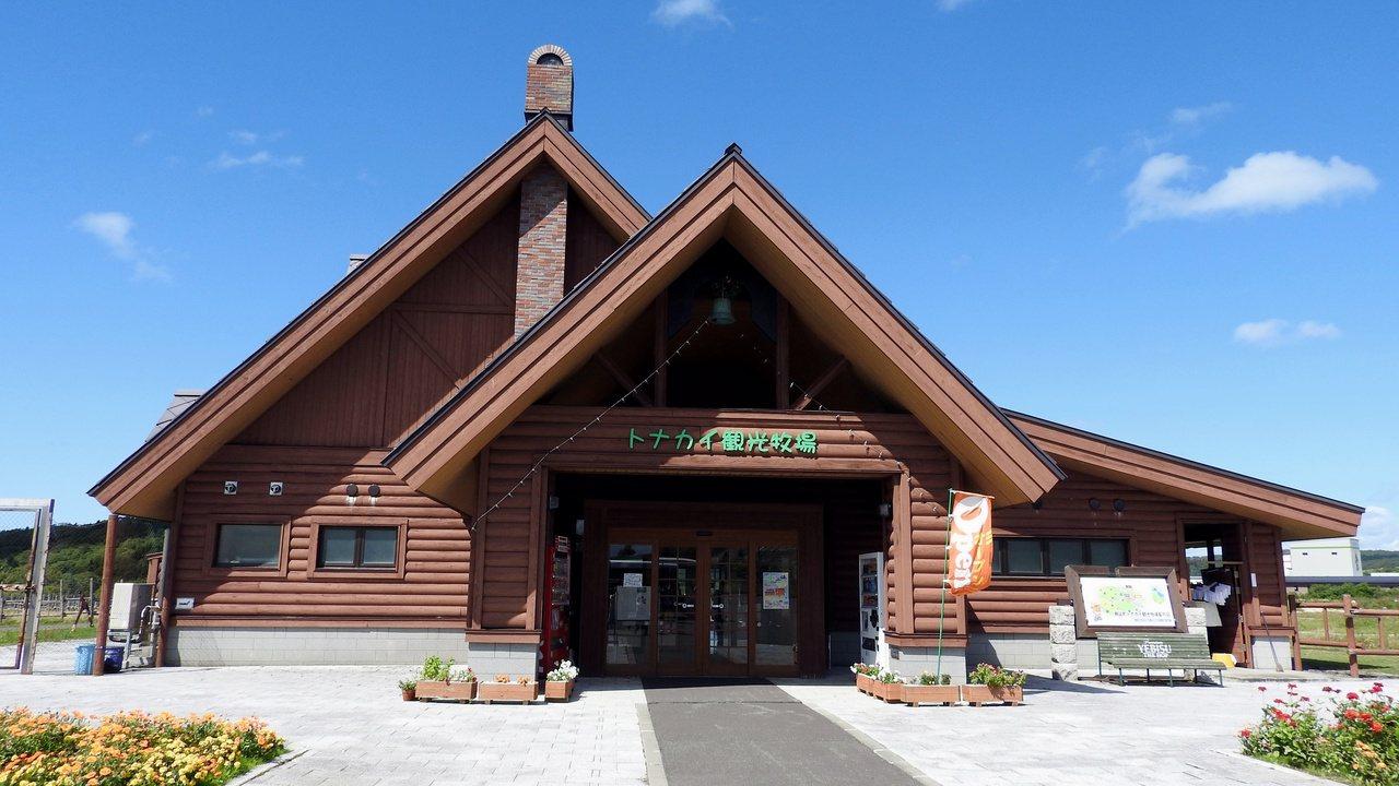 幌延町的馴鹿觀光牧場是北海道第一個引進馴鹿的牧場。記者魏妤庭/攝影