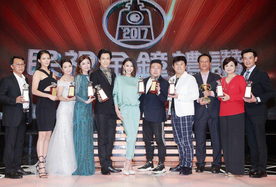 民視金鐘禮讚表揚金鐘入圍者。記者陳瑞源/攝影