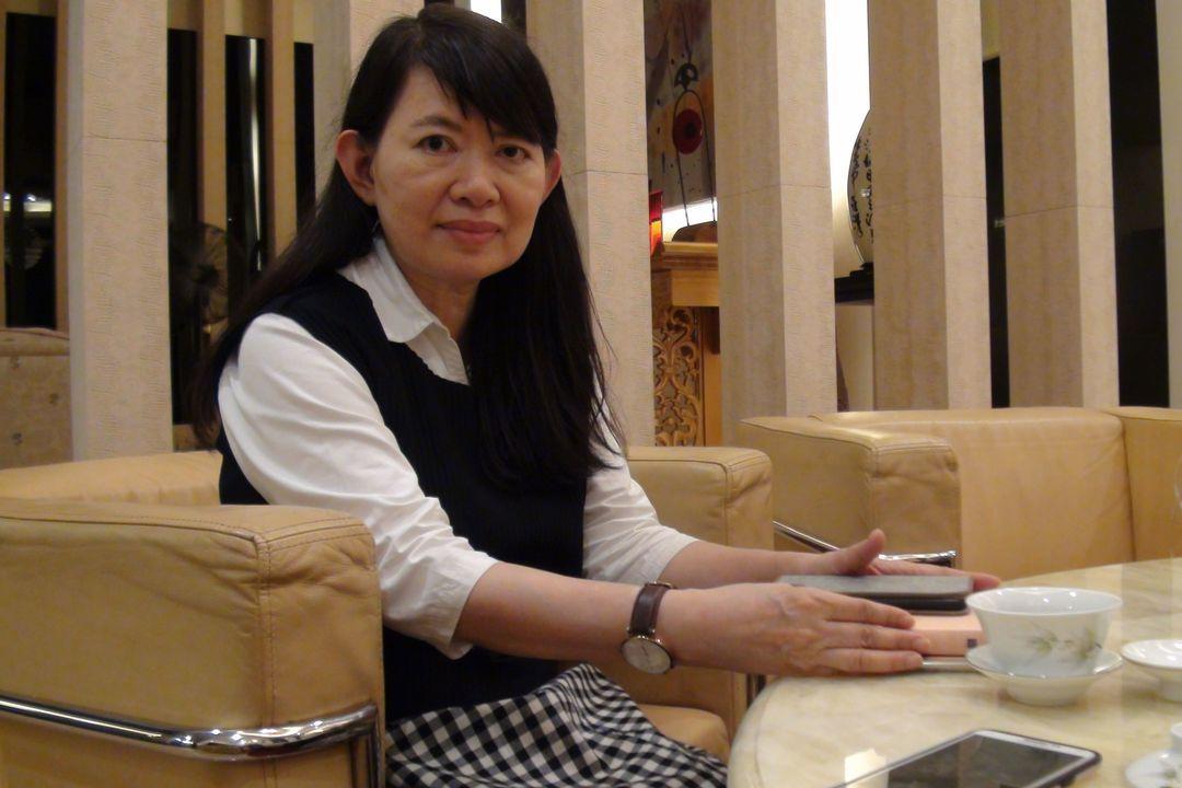 陳明文妻子廖素惠。聯合報系資料照/記者王慧瑛攝影