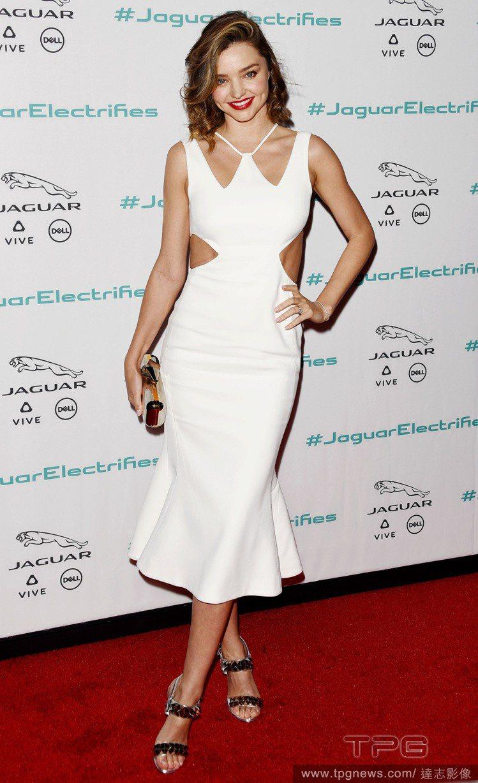 米蘭達柯爾(Miranda Kerr)。圖/達志影像