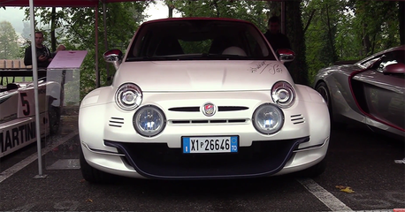 (影音)植入Alfa Romeo引擎的後驅Fiat 500