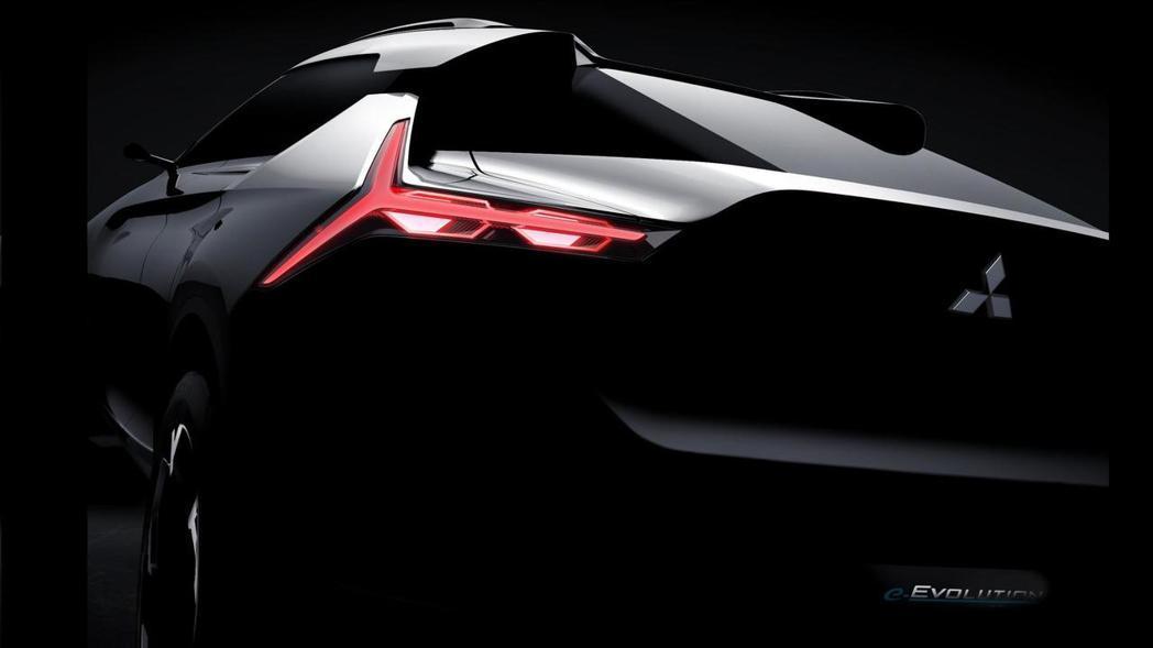 Mitsubishi將於第45屆Tokyo Motor Show上亮相品牌旗下全新e-Evolution Concept概念休旅車。 圖片來源:Mitsubishi
