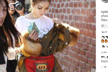 過去總與經紀人合作一針一線縫製秀服的謝金燕,這次在米蘭時裝周改頭換面變造型,甚至還上了New York Times Fashion的IG。而她不停變裝,還要為邀訪的雜誌拍照,在米蘭大教堂前玩鴿子,謝...