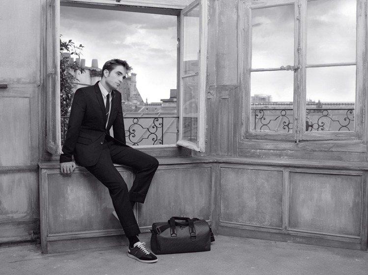 Dior Homme由羅伯派汀森詮釋2018春季男裝的樣貌。圖/Dior提供