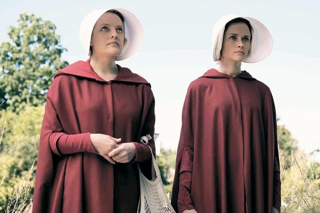 「使女的故事」OTT原創影集寫下艾美獎新紀錄。 圖/摘自imdb