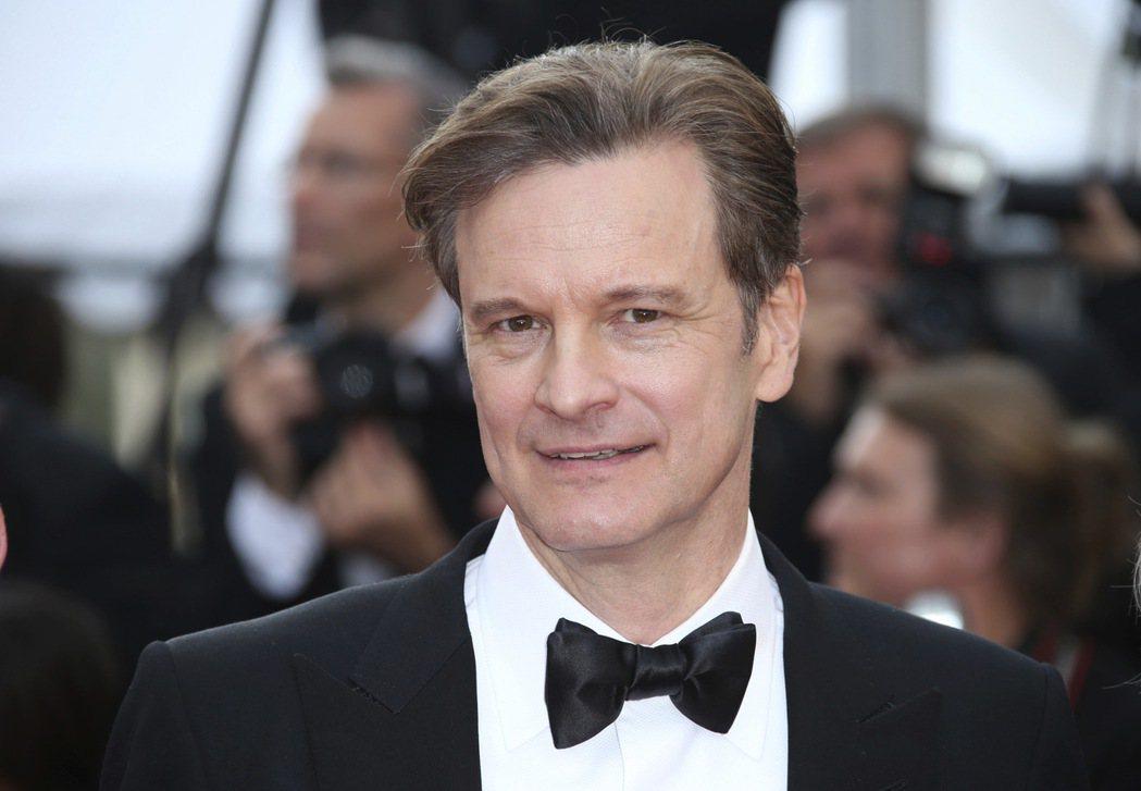 英國演員柯林弗斯(Colin Firth)。 美聯社