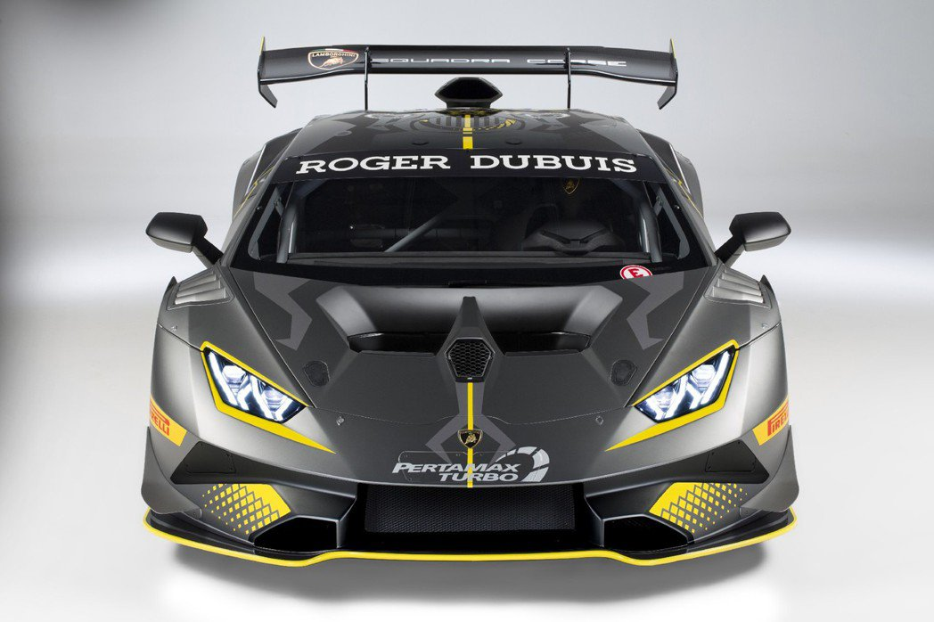 Lamborghini全新統規戰駒 Huracán Super Trofeo E...