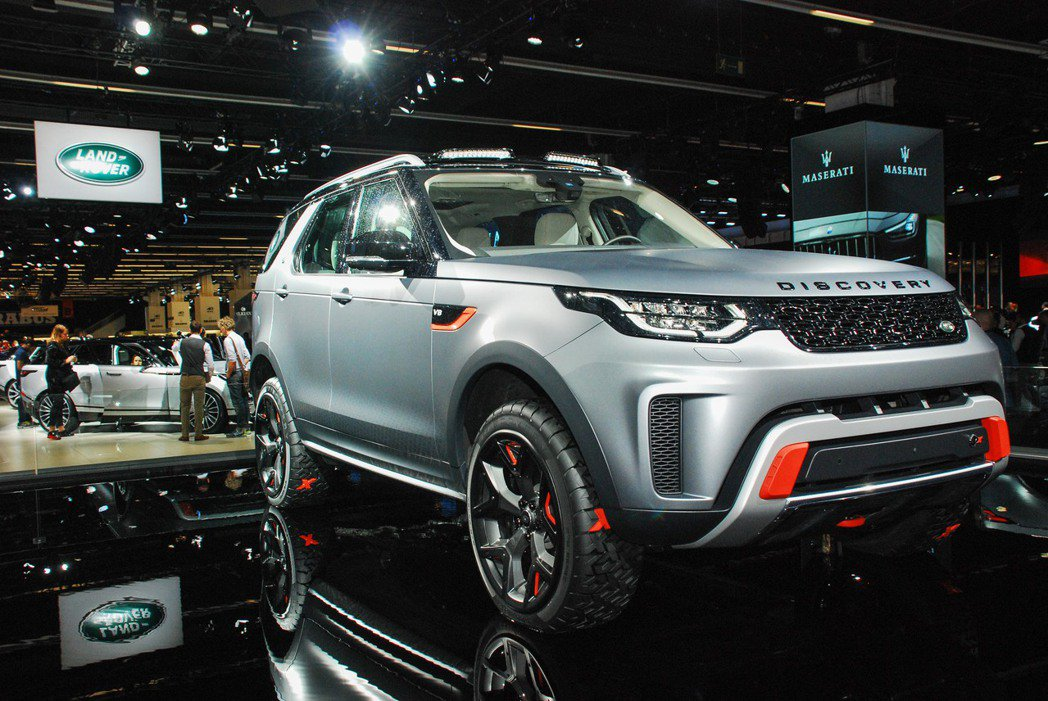 Land Rover Discovery SVX。記者林昱丞/攝影