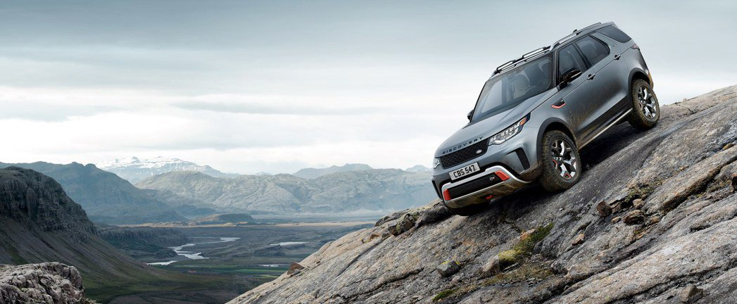 Land Rover Discovery SVX。圖/Land Rover提供