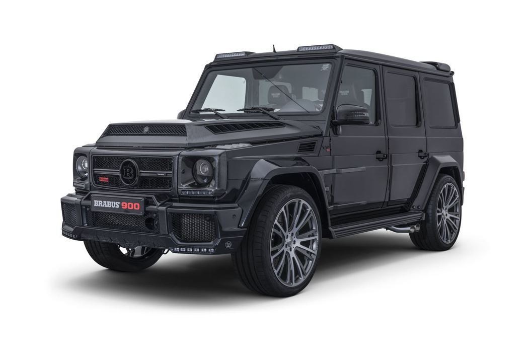 以Mercedes-AMG G65為基礎所打造的Brabus 900 One of Ten。圖/Brabus提供