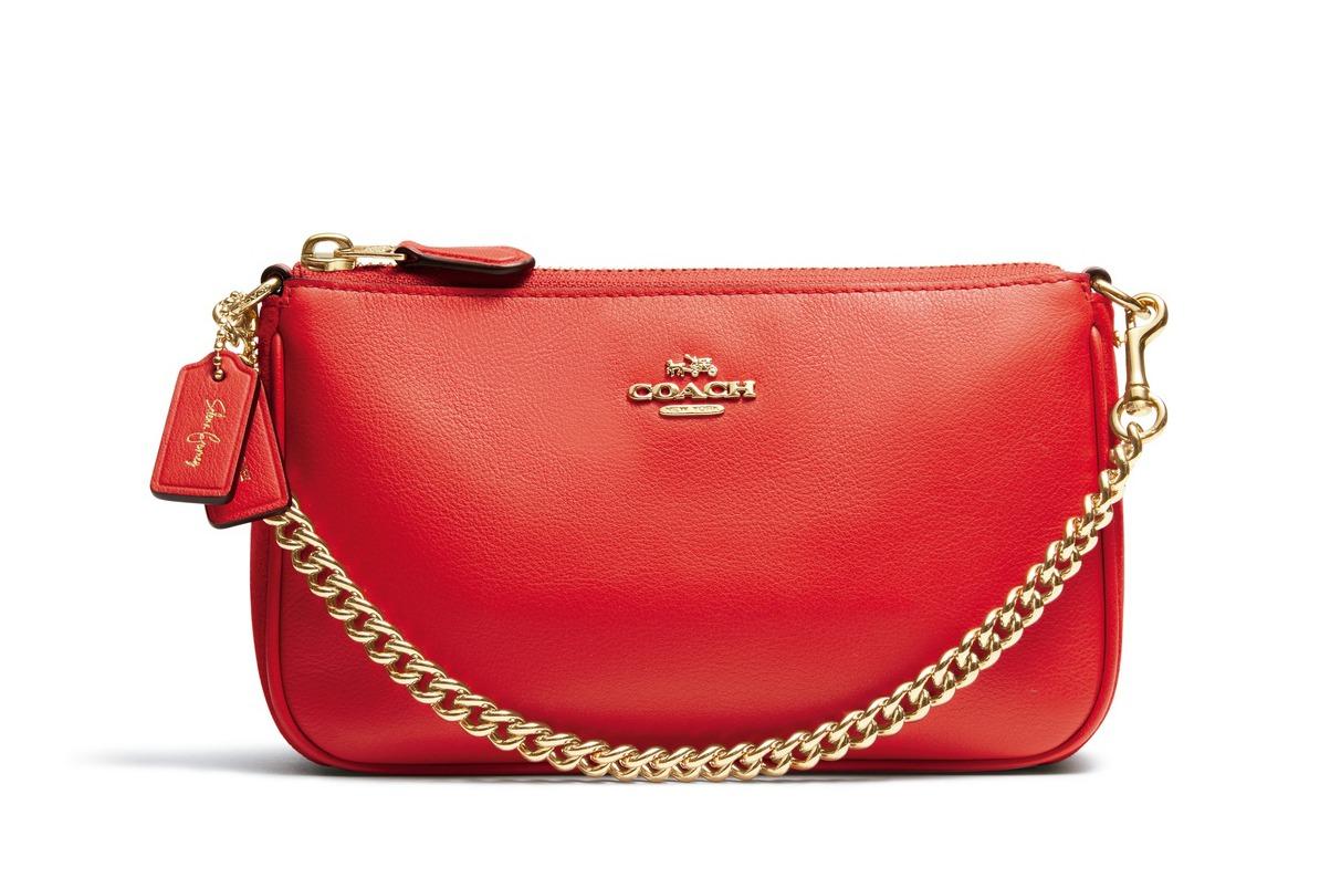 紅色 Selena Wristlet 鍊帶包,NT$7500