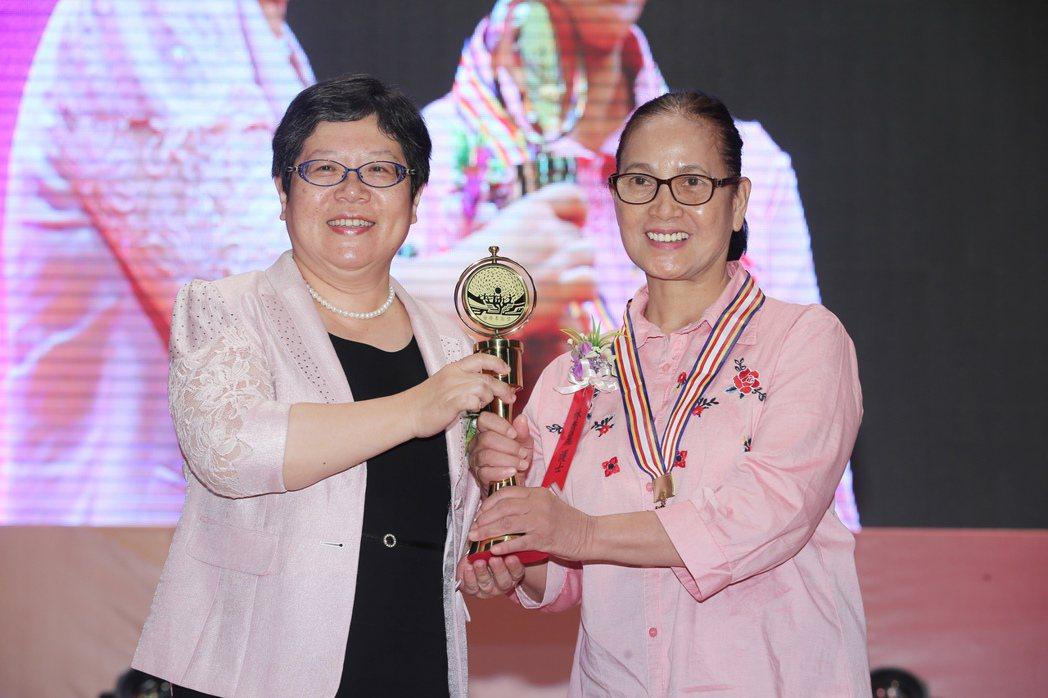 第27屆醫療奉獻獎得獎者林秀麗。記者徐兆玄/攝影