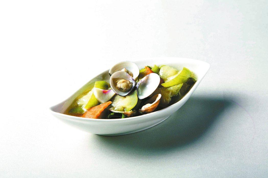 蛤蜊絲瓜 照片:三采文化/提供