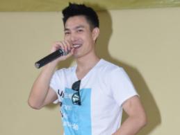 口技藝人李昶俊以忽快忽慢的beatbox說唱單車熱血之旅,嗨翻全場。(photo