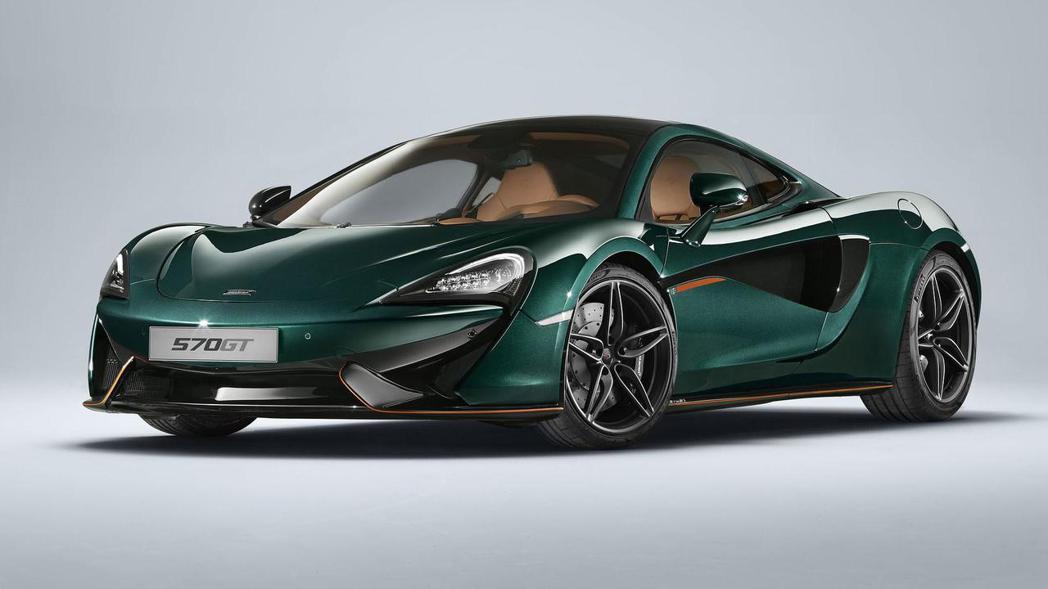 MSO 570GT XP Green披上綠色外衣,全球限量6部。 圖片來源:McLaren