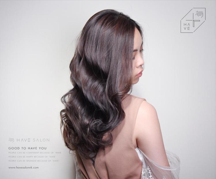 髮型創作/有造型空間 - 髮型師諾曼。圖/HairMap美髮地圖提供