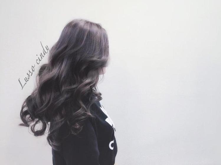 髮型創作/Lusso Hair salon - Cindy。圖/HairMap美...