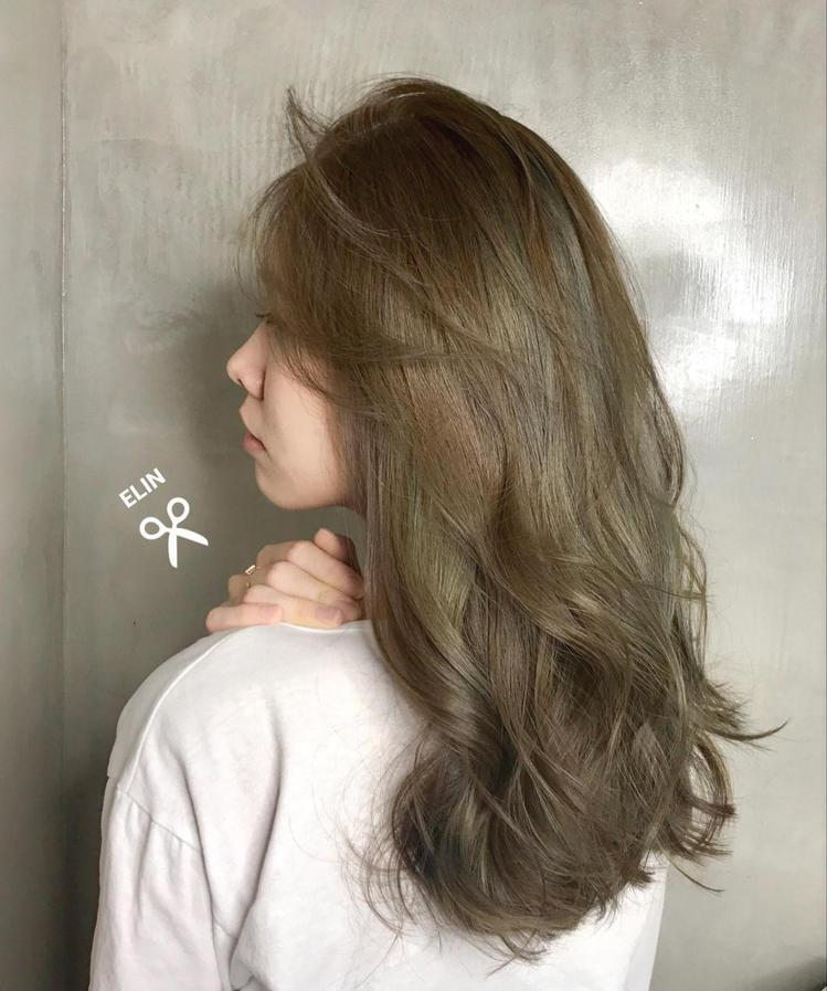 髮型創作/ 沐/潤 - Elin Siao 。圖/HairMap美髮地圖提供