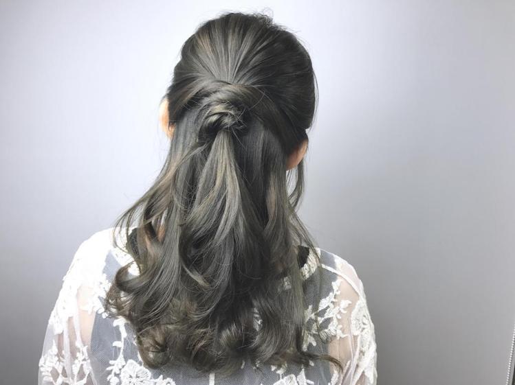 髮型創作/ WZ studio - 緯震(Eric)。圖/HairMap美髮地圖...