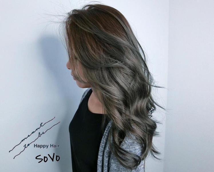髮型創作/Happy hair太平店/Sovo Chiu。圖/HairMap美髮...
