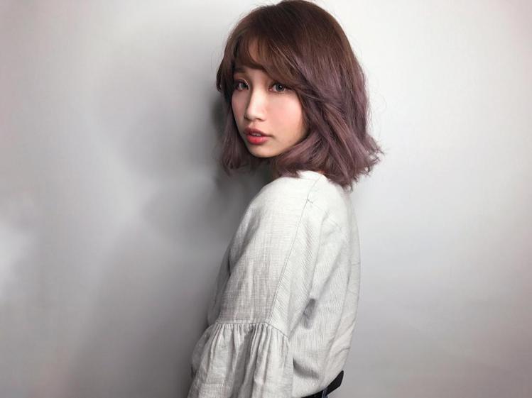 髮型創作/Happyhair北屯店 / Iris艾瑞絲《曼萱》。圖/HairMa...